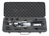 Avdel Long Arm Hand Rivet Tool, 4.0-6.4 Nose Tips (Including both 4.8 & 6.4 Monobolt Tips), Supplied in a metal case
