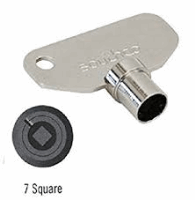 7mm Square Key