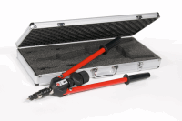 Masterfix Long Arm Rivetnut Hand Tool, M5-M10 Nose Kits & M5-M8 Stud Kits Included, Supplied in a Metal Box
