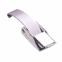 Over Centre Draw Latch, Fixed Grip, Latch Only, Stainless Steel, Light Duty, Series 50,  Order Keeper Separately