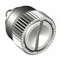 Captive Screw Flare In Knurled Styled Knob