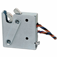 Electronic Rotary Latch, Delayed Relock, Side Trigger, Latch Status Switch, No Connector